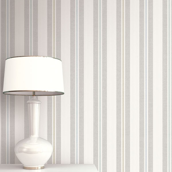 Striped wallcoverings Multi Stripe-817777