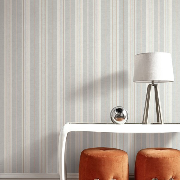 Striped wallcoverings Violet-180515