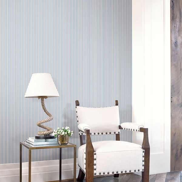 Striped wallcoverings Troy-730221