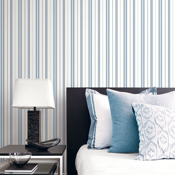 Striped wallcoverings Tailored Stripe-193922