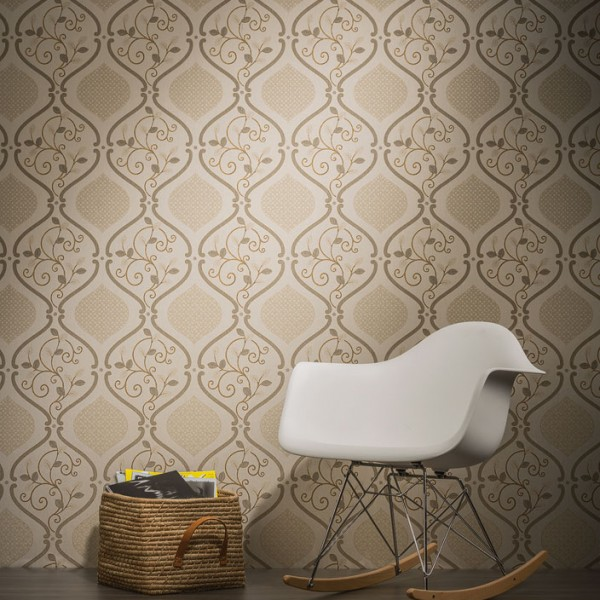 Textile wallpaper Holly-230014