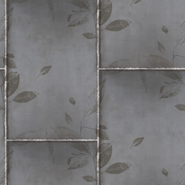 Modern wallpapers Steel Leaves-190782