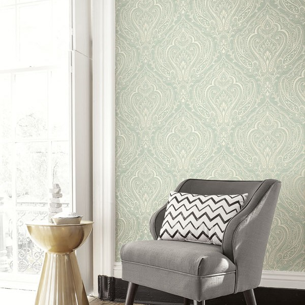 Oriental wallpaper Paisley Damask-234978