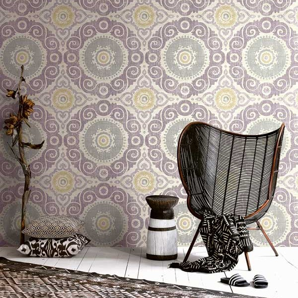 Design Wallcoverings Suzanni Medallion-177160