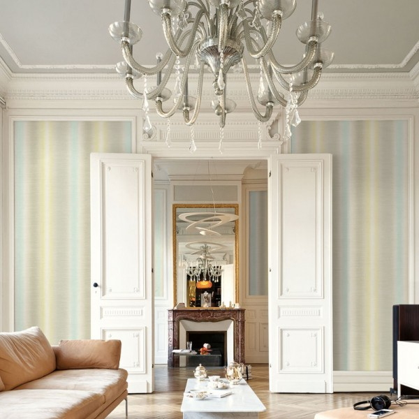 Striped wallcoverings Charlevoix-128744