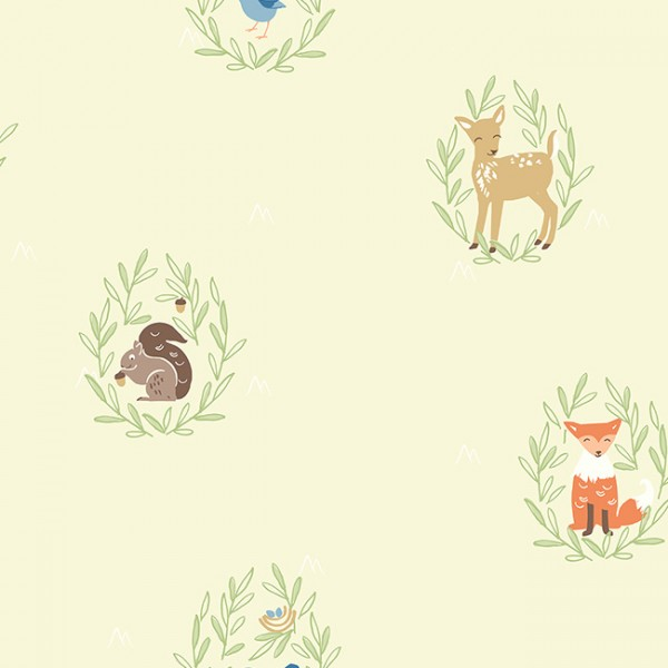 Kids wallpapers Forest Animals-343541
