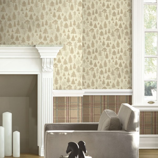 Design Wallcoverings Colorado Pines-836667