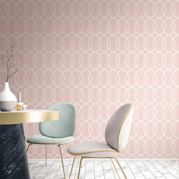 Geometrische Tapeten Ikat Lattice-947161