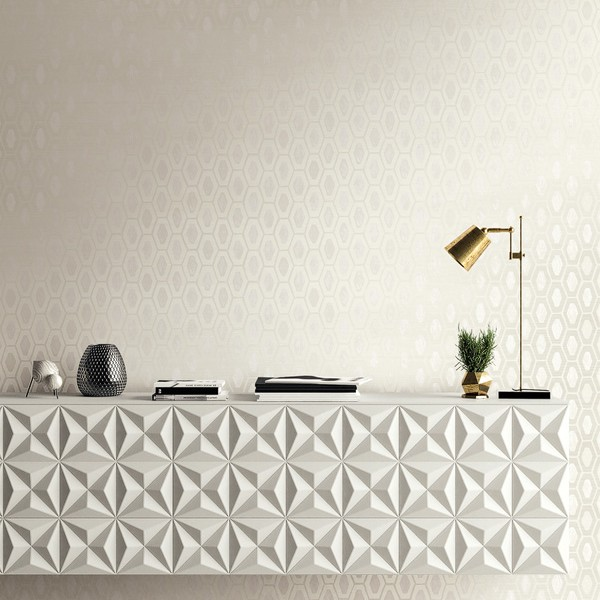 Geometric wallcoverings Exotic Diamonds-288641