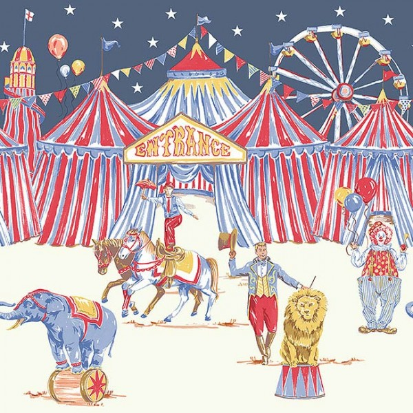 Borders Frieze Circus Fun-624031
