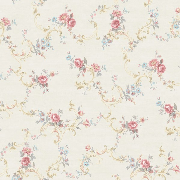 Floral Scroll-660008