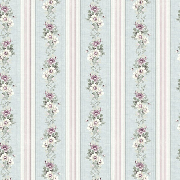 Rustic wallpapers Floral Stripe-754425