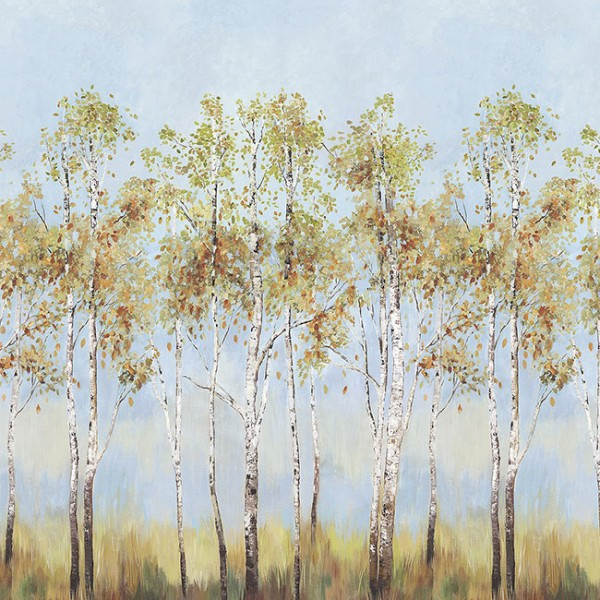 Murals Mountains and forests Birch Tree-327649