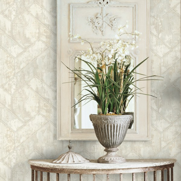 Geometric wallcoverings Tiling-368068