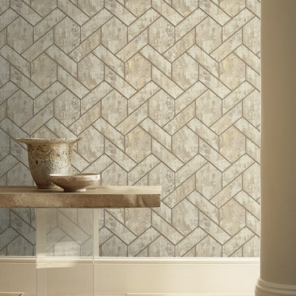 Geometric wallcoverings Tiling-31438