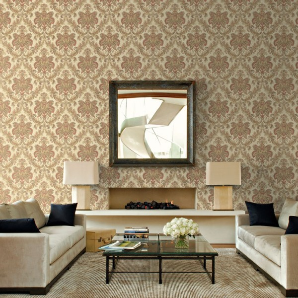 Classic wallpapers Woven Damask-166651