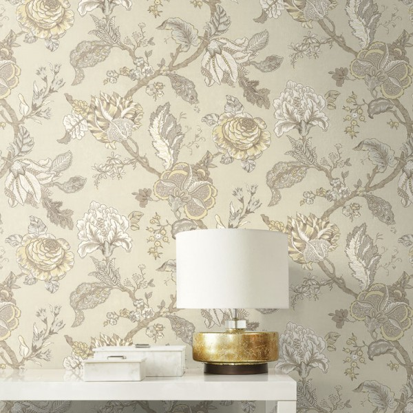 Oriental wallpaper Jacobean-650339