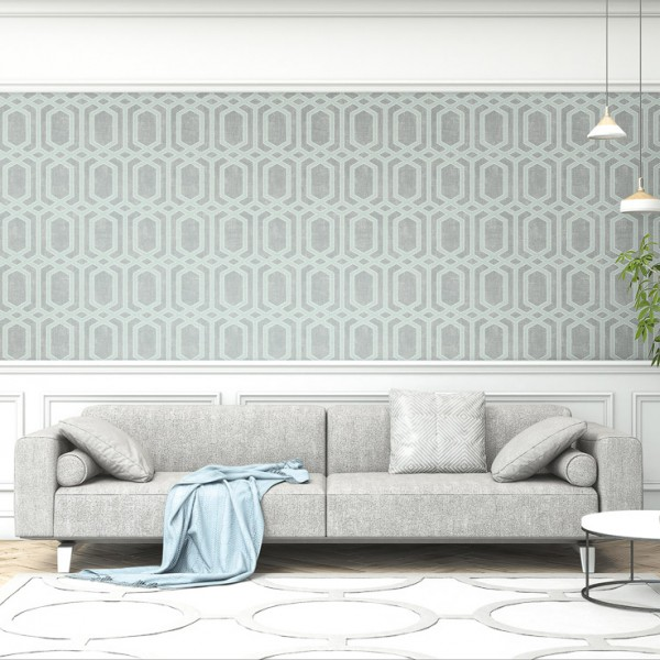 Geometric wallcoverings Hexagon-290175