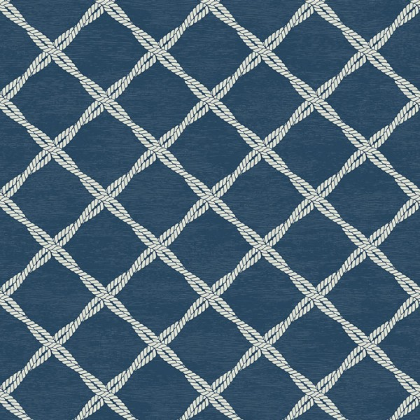 Nautical Wallpaper Ruby-2B988C