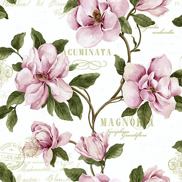 Floral wallpaper Magnolia-231389