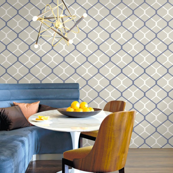 Geometric wallcoverings Bozzelli-231567