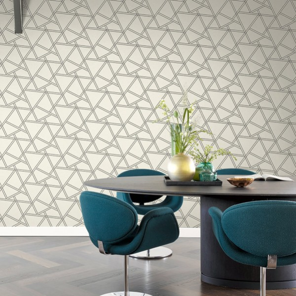 Geometric wallcoverings Lanira-431581