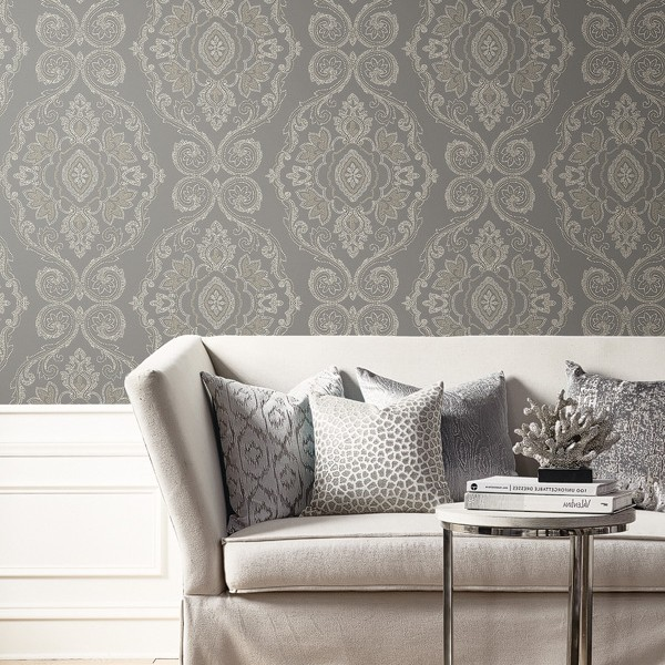 Modern wallpapers Dot Damask-307726