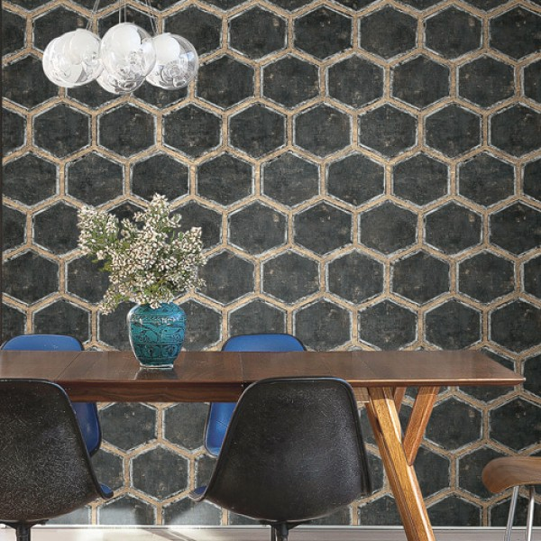 Geometric wallcoverings Khair-149279