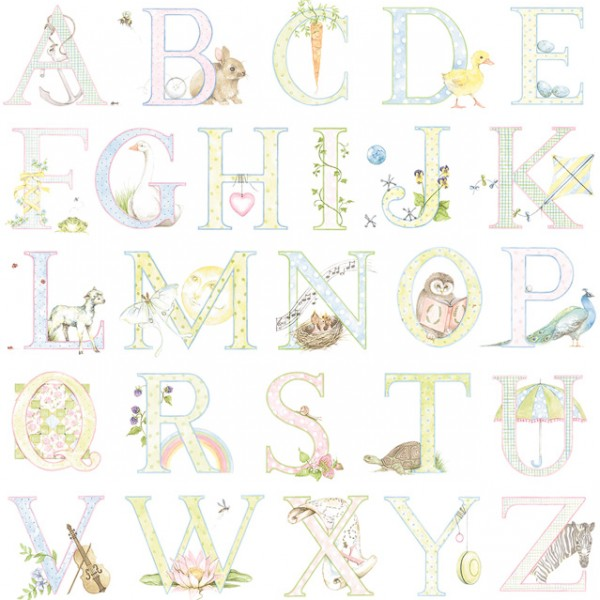 Kids wallpapers Alphabet-500131