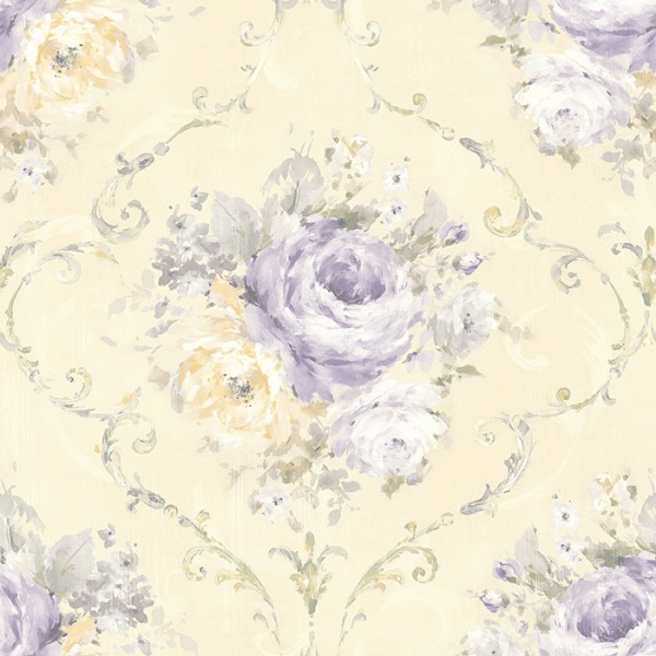 Floral wallpaper Framed Bouquet-122663