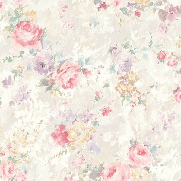Tapeten Rosa Small Floral-265923