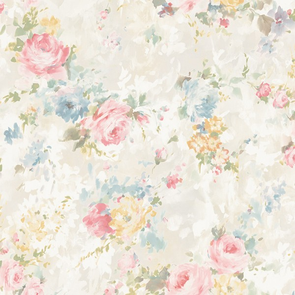 English Style Tapeten Small Floral-601617