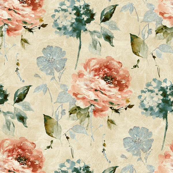 Floral wallpaper Corby-285833