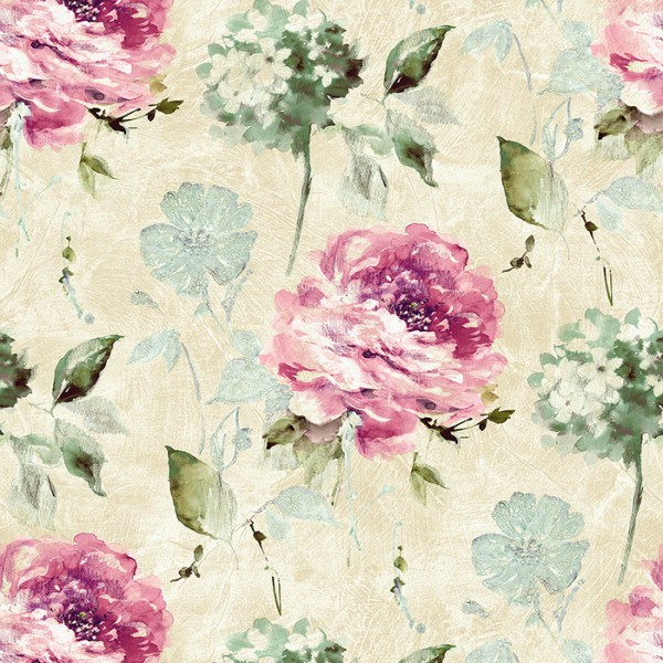 Floral wallpaper Corby-444931