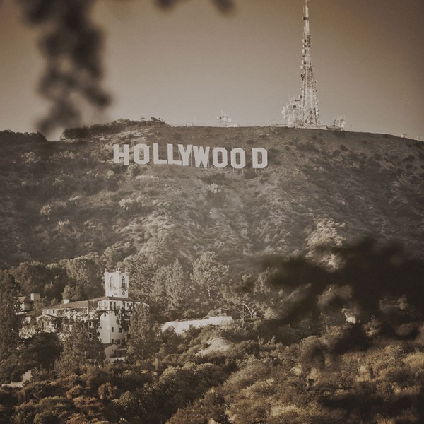 Murals Countries and Cities Hollywood-C99005