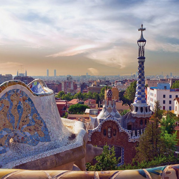 Murals Countries and Cities Barcelona-18E01B
