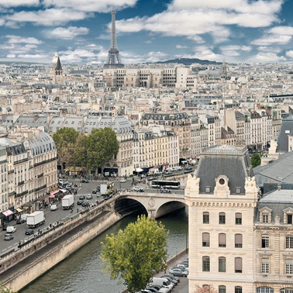 Murals Countries and Cities Paris-7A45BE
