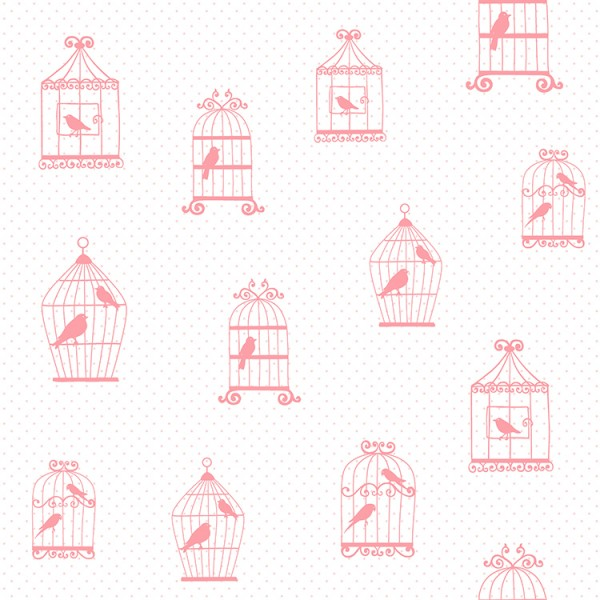 Kids wallpapers Elegant Birds-187493