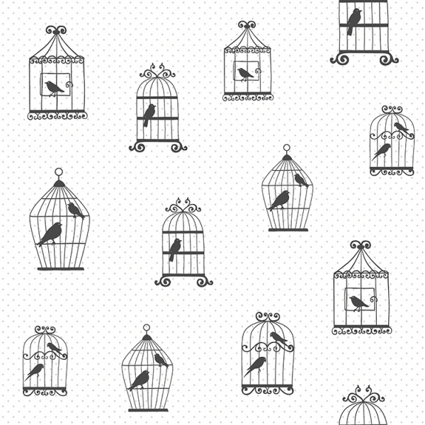 Kids wallpapers Elegant Birds-140192