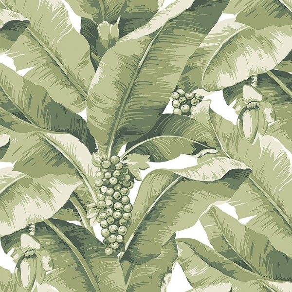 Floral wallpaper Paradisio Palm-119509