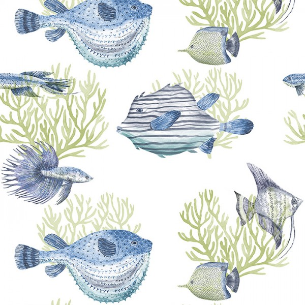 Nautical Wallpaper Oceanna-175216