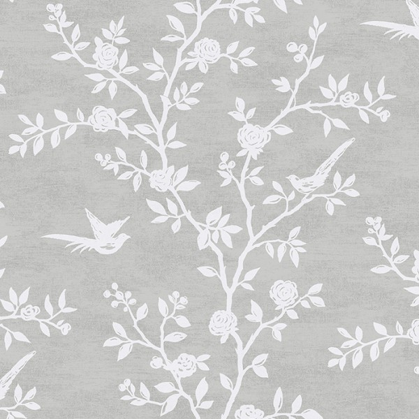 Floral wallpaper Silhouette-154222