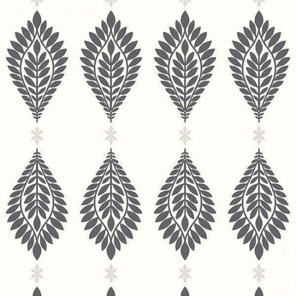 Oriental wallpaper Palm Frond-242989