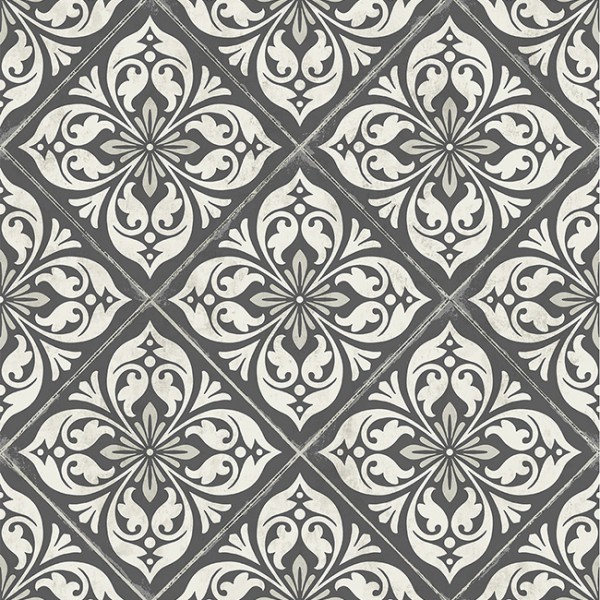 Oriental wallpaper Ornamental Tile-394348