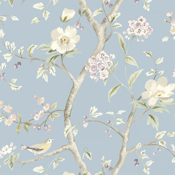 Floral wallpaper Florals Trail-121223