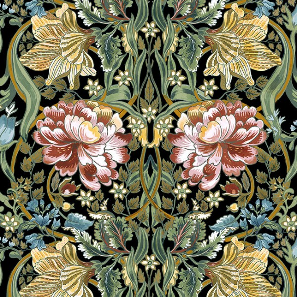 Floral wallpaper Belle-Epoque-EPOQUE