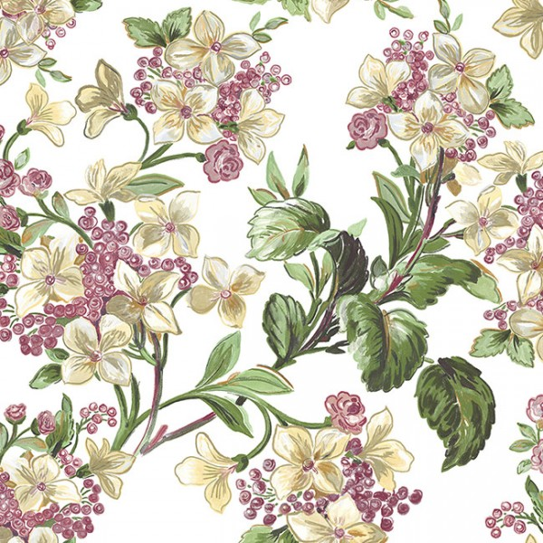 Floral wallpaper Flowery-329746