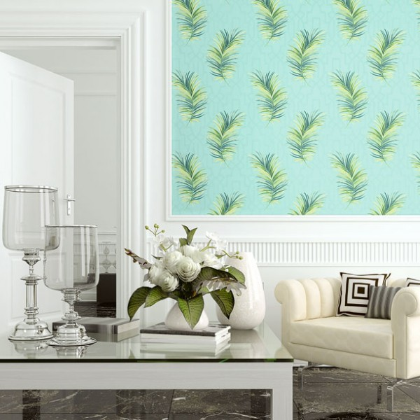 Design Wallcoverings Fern Leaves-F0D56E