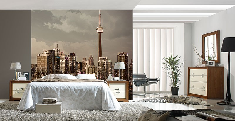 Murals Countries and Cities Modern Town-419540