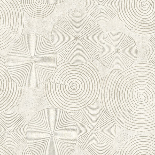 Modern wallpapers Painted Circles-108142